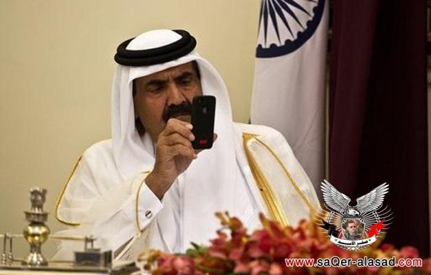 أمير قطر والأيفون
