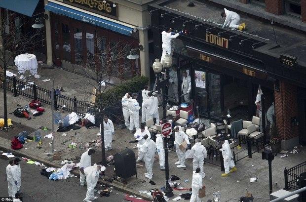 التوصل إلي المشتبه بهم بتفجيرات بوسطن 00