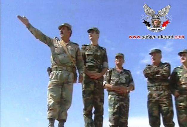 الجيش العربي السوري والأسد