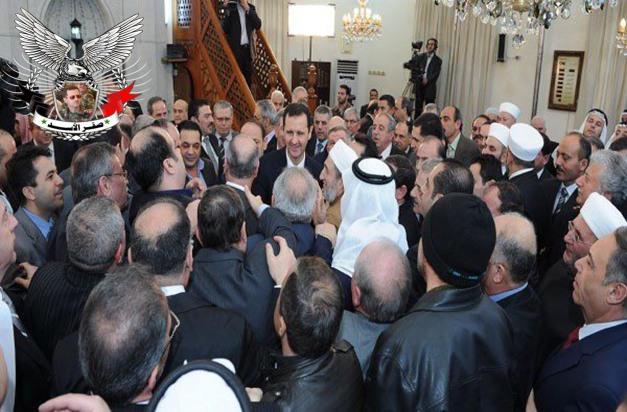 الرئيس الأسد يشارك السوريين أفراح المولد النبوي الشريف
