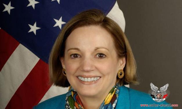 السفيرة الأمريكية في القاهرة