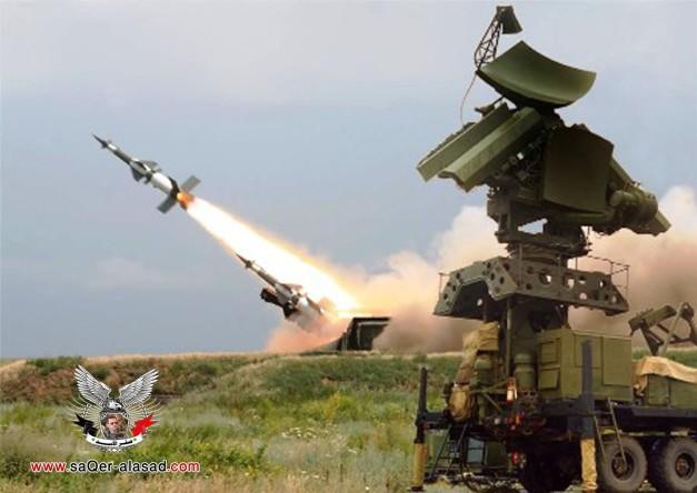 القوات الصاروخية السورية تختتم المناورات العسكرية للقوات المسلحة