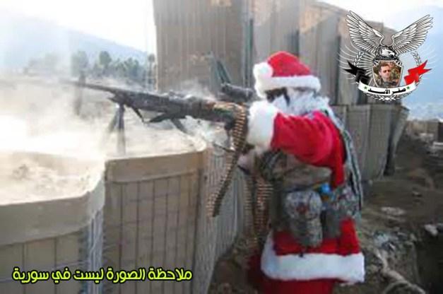 بابا نويل وسورية