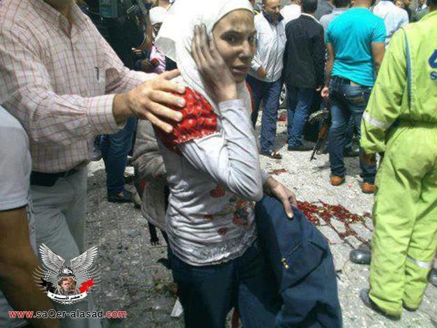 تفجير دمشق 8  4 2013