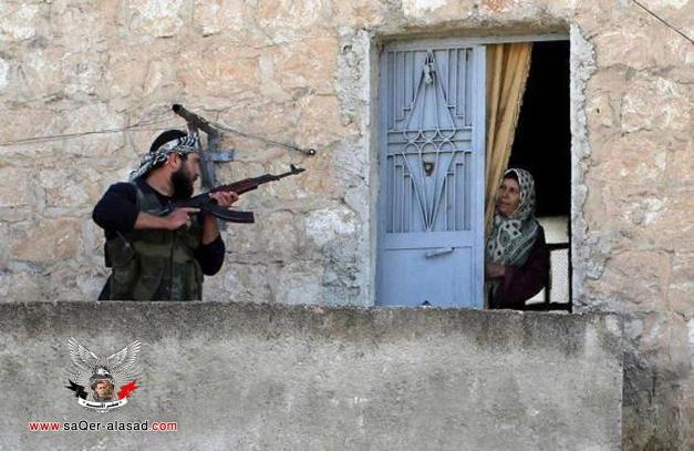 جبهة النصرة التكفيرية ترتكب مجزرة مروعة في قرية المسرب في دير الزور
