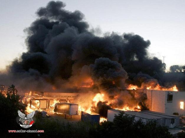 حريق في مصنع كيميائي بضواحي اسطنبول