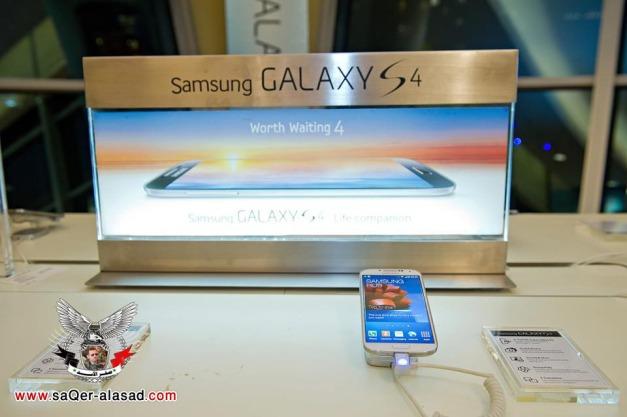 صور الكشف عن هاتف سامسونج جالاكسي اس 4 في دبي