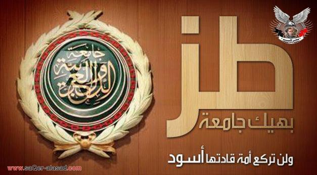 طز بجامعة الدول العربية