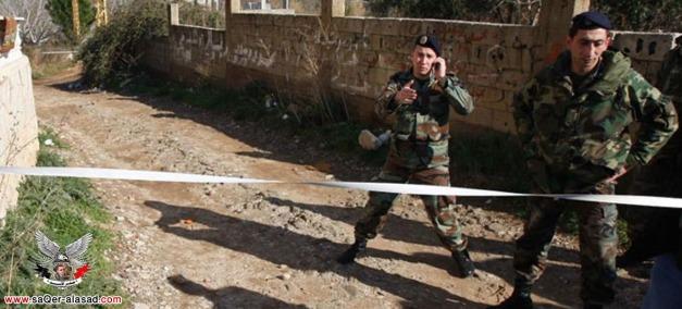عملية عين زحلتا كانت تتضمن أسلحة ثقيلة للمسلحين في سوريا