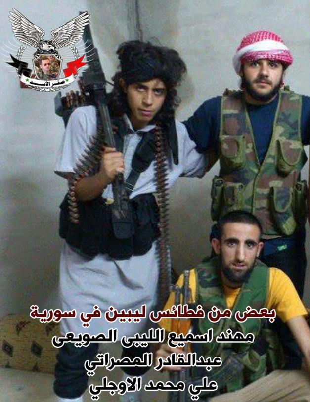 مجرمو ليبيا في سورية