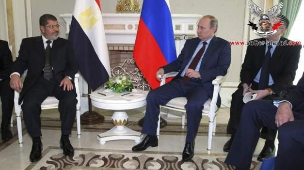 مرسي يقرر قطع العلاقات مع روسيا