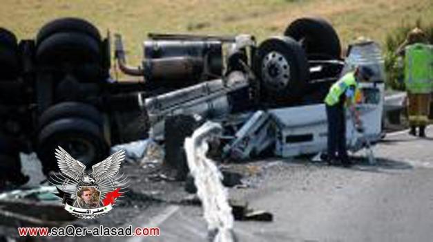 مصرع 15 إسرائيلي وإصابة 15 في حادث اصطدام شاحنة في حيفا