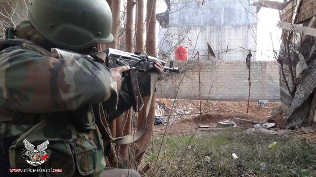 هكذا حرّر الجيش العربي السوري مقام السيدة سكينة