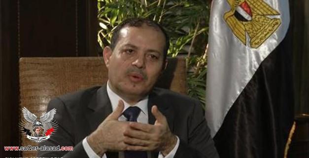 وزير الإعلام المصري يتحرش بالصحفيات