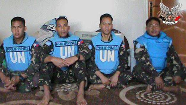 خطف العاملين الأربعة في القوات الدولية