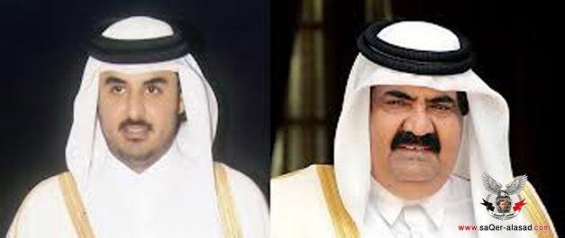 أمير قطر وولي العهد تميم بن حمد
