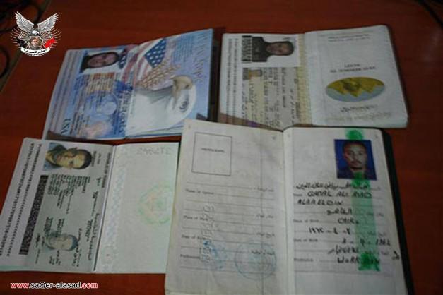 مقاتلون عرب واجانب من جنسيات مختلفة في سوريا
