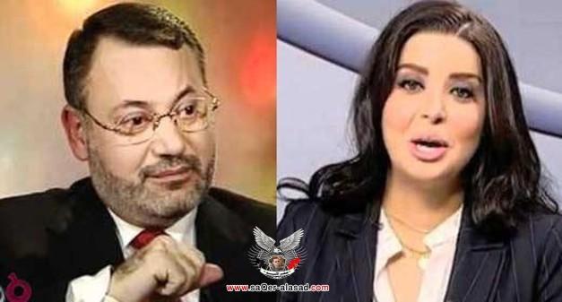 وفاء الحميدي وأحمد منصور