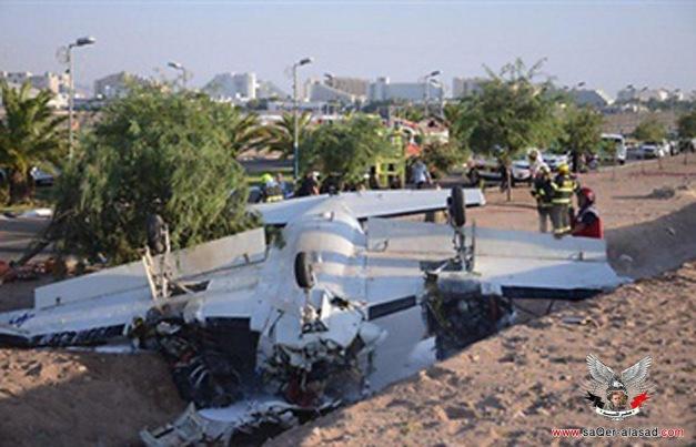 إسرائيل ترفع حالة التأهب في إيلات بعد سقوط طائرة على الحدود المصرية