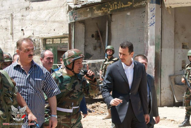 الأسد في داريا