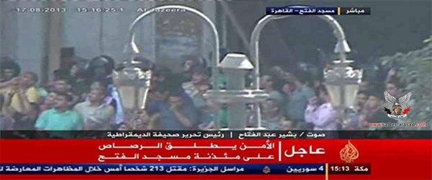 الجزيرة والعربية اتفقتا في سوريا و اختلفتا في مصر