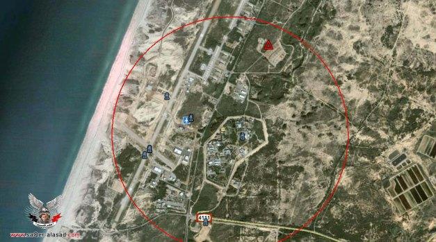مجمع بالمهيم الذى يوجد به المعامل النوويه ومصانع الصواريخ