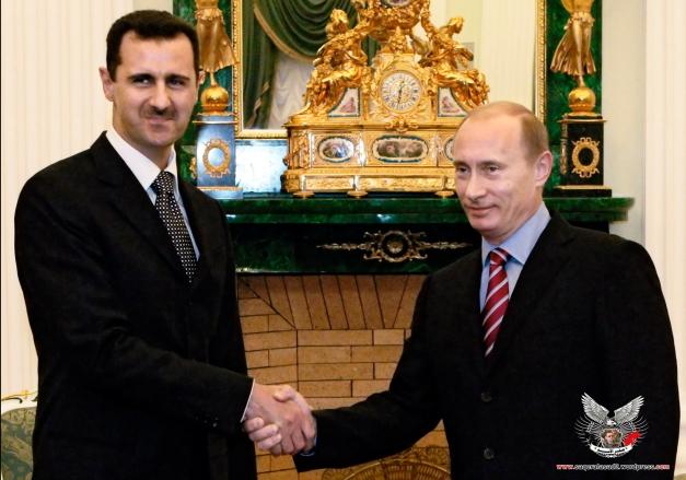 الرئيس بوتين والرئيس بشار الأسد
