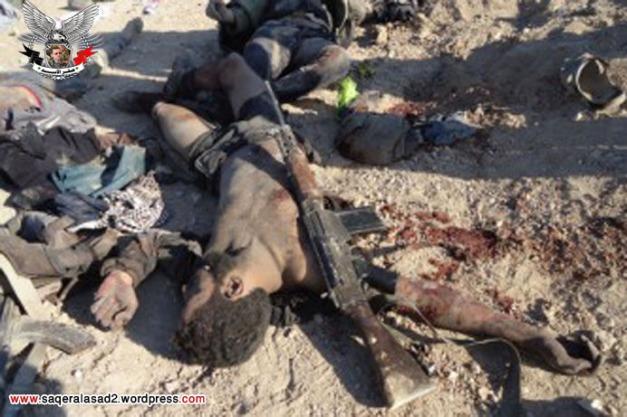 قتلى ل جبهة النصرة في كمين للجيش العربي السوري