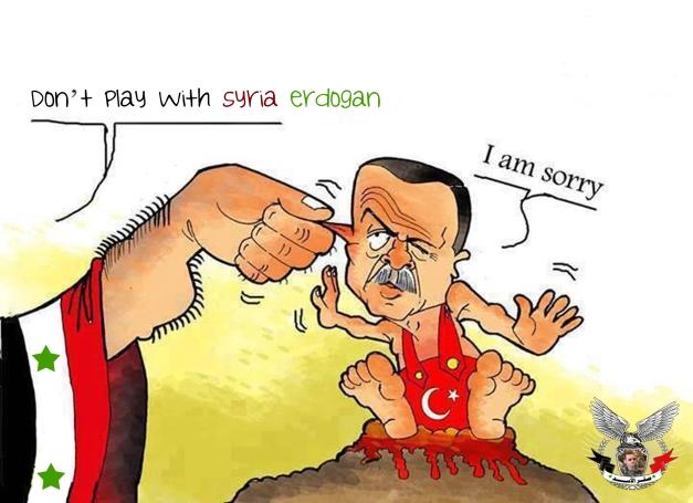 اردوغان واللعب مع سوريا