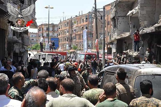 مفخخة في حمص