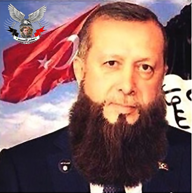 اردوغان المجرم